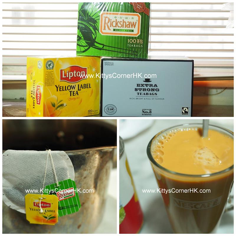Hong Kong Milk Tea DIY recipe 香港奶茶 自家食譜