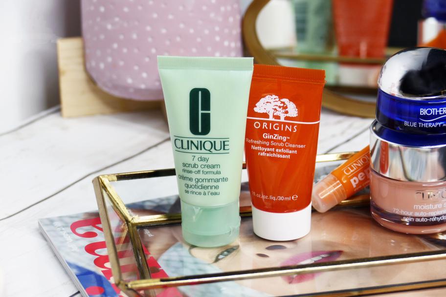 Sommer Reinigung und Peeling Origins Clinique