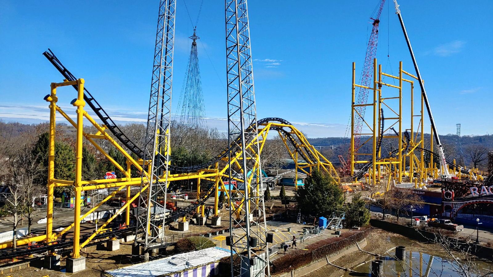 Newsplusnotes The Steel Curtain Is Looking Massive At Kennywood