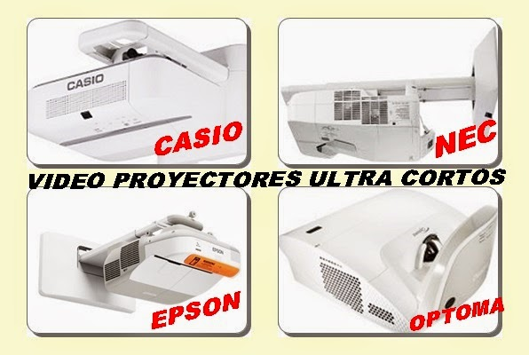 video proyectores ultra cortos