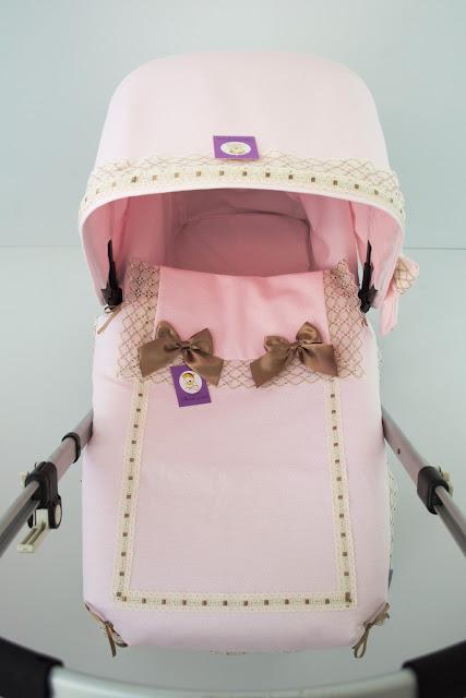 colchita lencera capazo Bugaboo Camaleon rosa beige