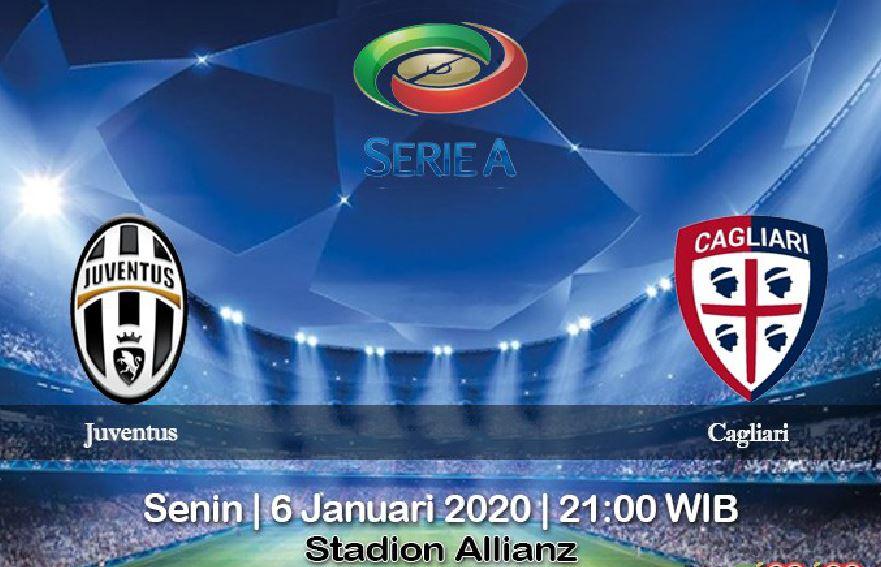 Prediksi Juventus vs Cagliari 6 Januari 2020