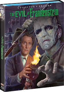 Vault Master's Pick of the Week for 05/19/2020 is Scream Factory's THE EVIL OF FRANKENSTEIN!