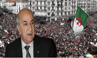 الحراك الجزائري ينتقل إلى خارج العاصمة الجزائرية رافعا من جديد بشعار لا انتخابات مع العصابات