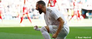 Karim lleva 5 partidos abriendo la lata