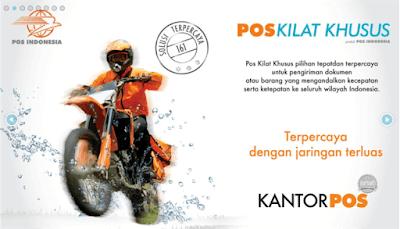 Layanan Pengiriman Pos Kilat Khusus PT. Pos Indonesia