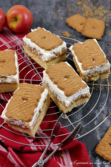 Spekulatius-Apfelkuchen vom Blech | Kuchen | Backen | Rezept | Weihnachten | Weihnachtsbäckerei