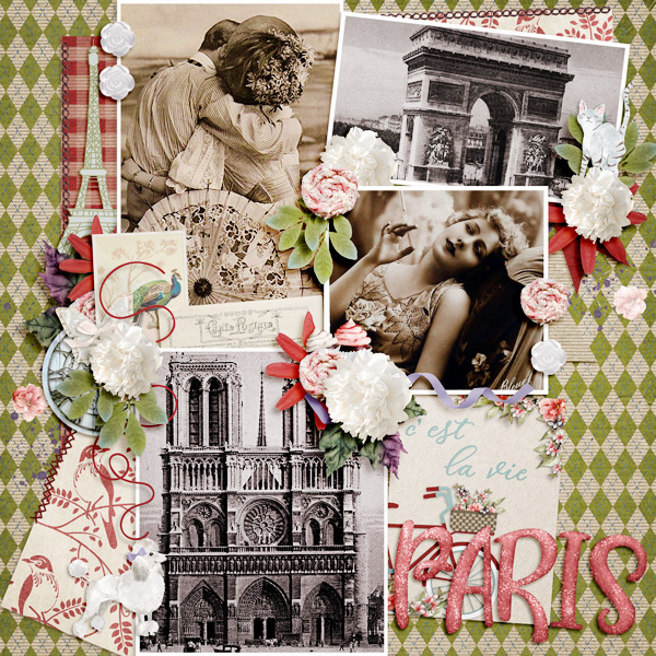Toujours Scrapbooking Collection