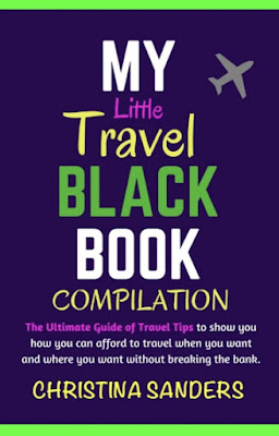 my travel book, christina sanders, travel on a budget, travel book