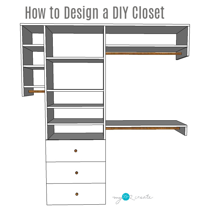 Awesome Steps on How to Design a DIY Closet, MyLove2Create