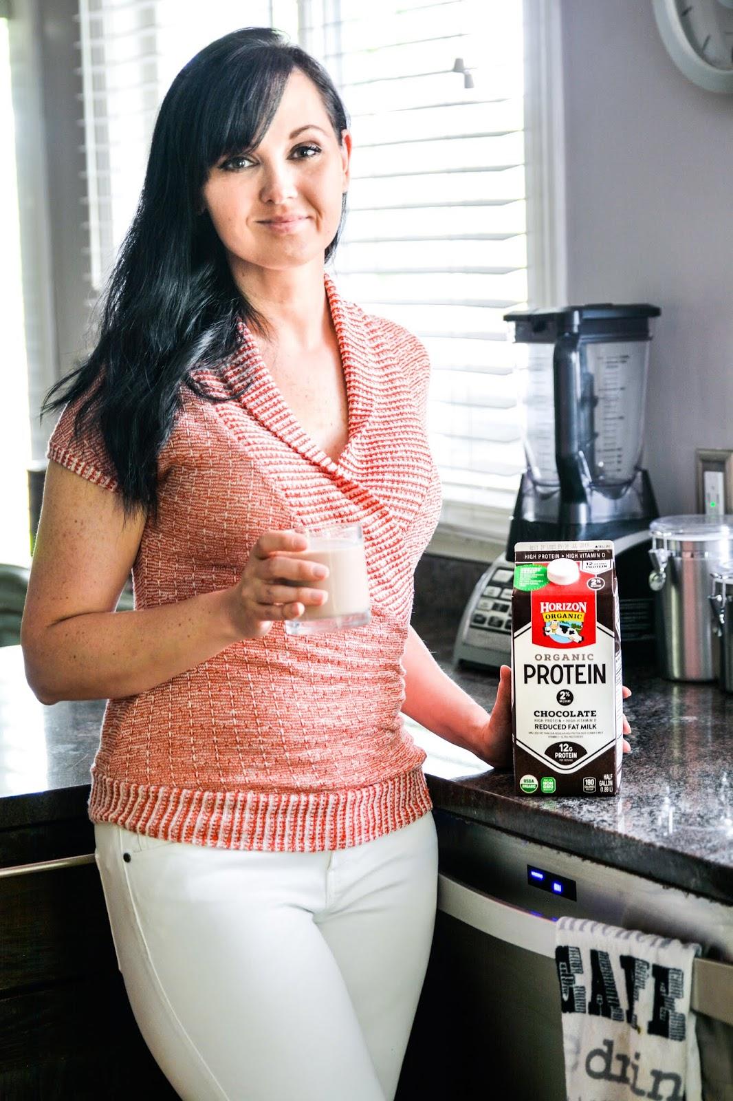 Horizon Organic Chocolate Protein Milk