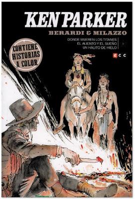 KEN PARKER nº31 comic Berardi y Milazzo edita ECC portada