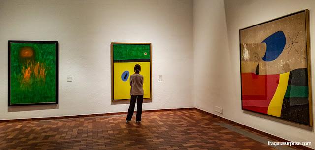 sala da Fundação Joan Miró, em Barcelona