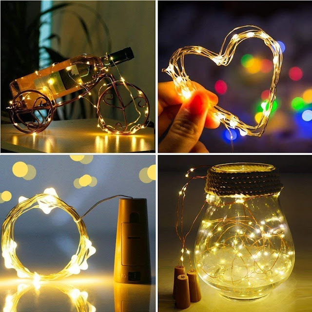 Diwali decorations at home, botel light