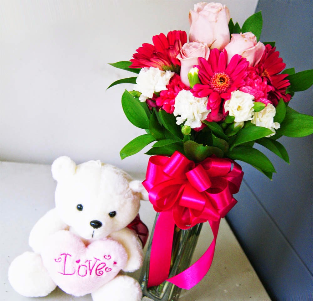 Berbagai Macam Bentuk Rangkaian Bunga Mawar Yang Indah