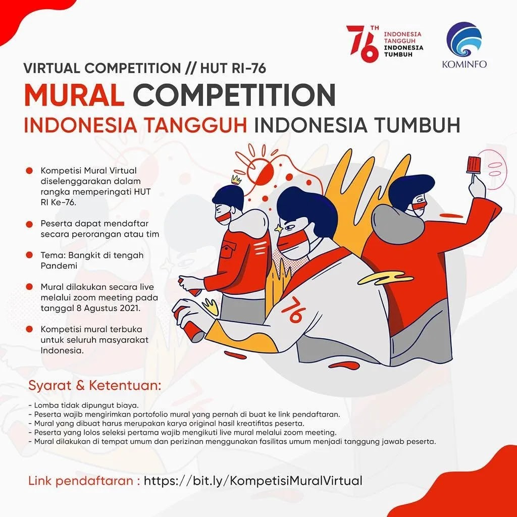 Mural 🎨 Virtual Run Kominfo • 2021