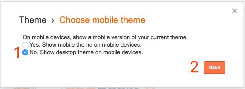 blogger配置手机主题模板