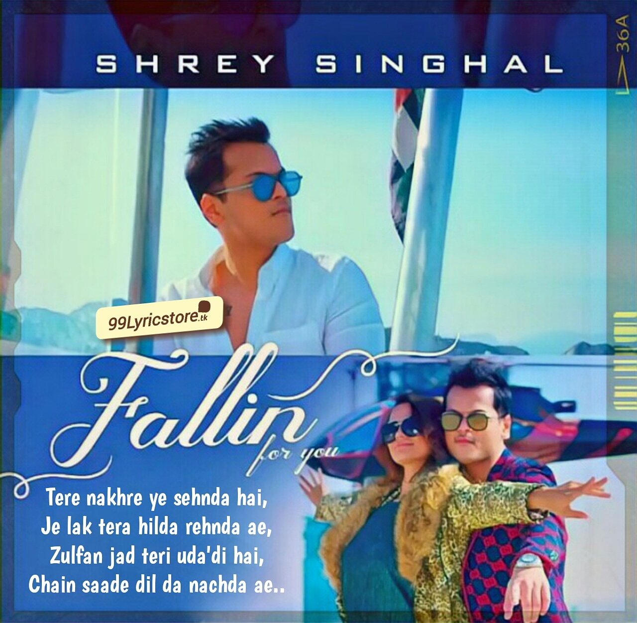 Fallin For You Punjabi Track Sung By Shrey Singhal