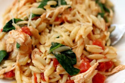 instant pot chicken spinach parmesan orzo