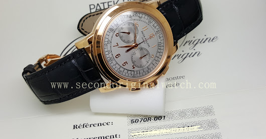 FOR SALE : PATEK PHILIPPE 5070 ROSEGOLD CHRONOGRAPH