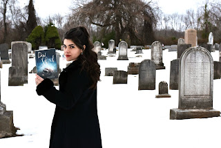 Laura Gia West's Operation Awesome Debut Author Spotlight #NewBook Dead School #20Questions cemetary graveyard
