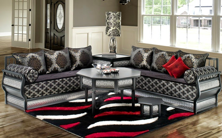 salon marocain salon marocain richbond. Black Bedroom Furniture Sets. Home Design Ideas