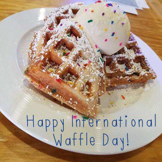 International Waffle Day Wishes pics free download