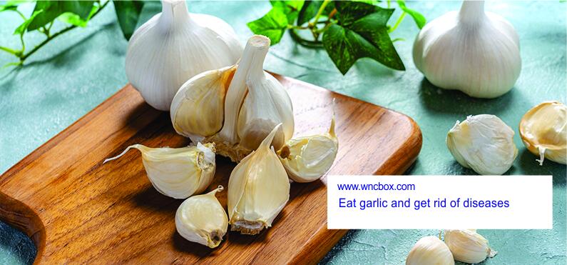 Eat garlic and get rid of diseases