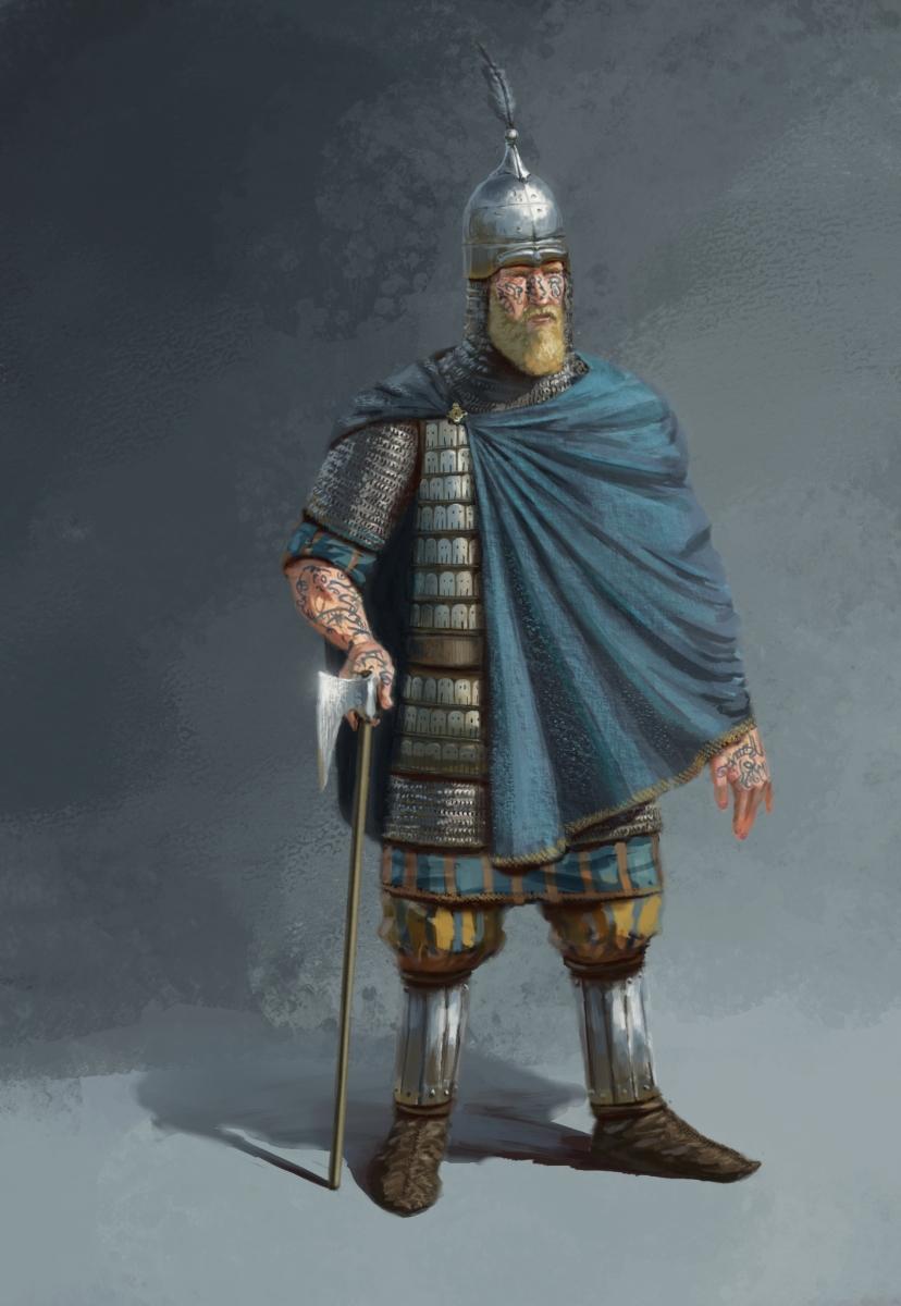 JG ODonoghue Archaeological  Historical Illustration