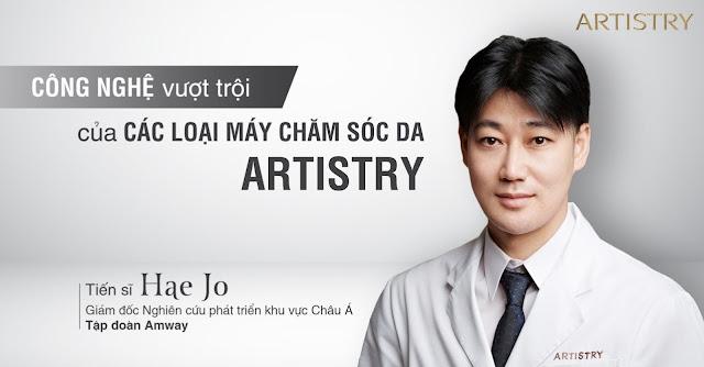 Công nghệ mới từ các loại máy chăm sóc da Artistry - Tiến sĩ Hae Jo