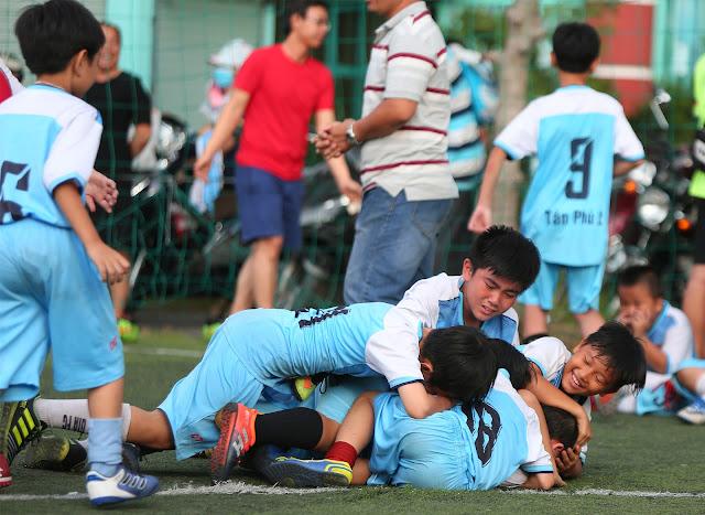 Lớp học bóng đá cho trẻ tại quận Gò Vấp TP HCM