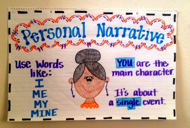 Personal Narrative Poster Done One Fab Teacher If You Don 39 T Know Oughta 2 This Adjectives Anchor Chart
