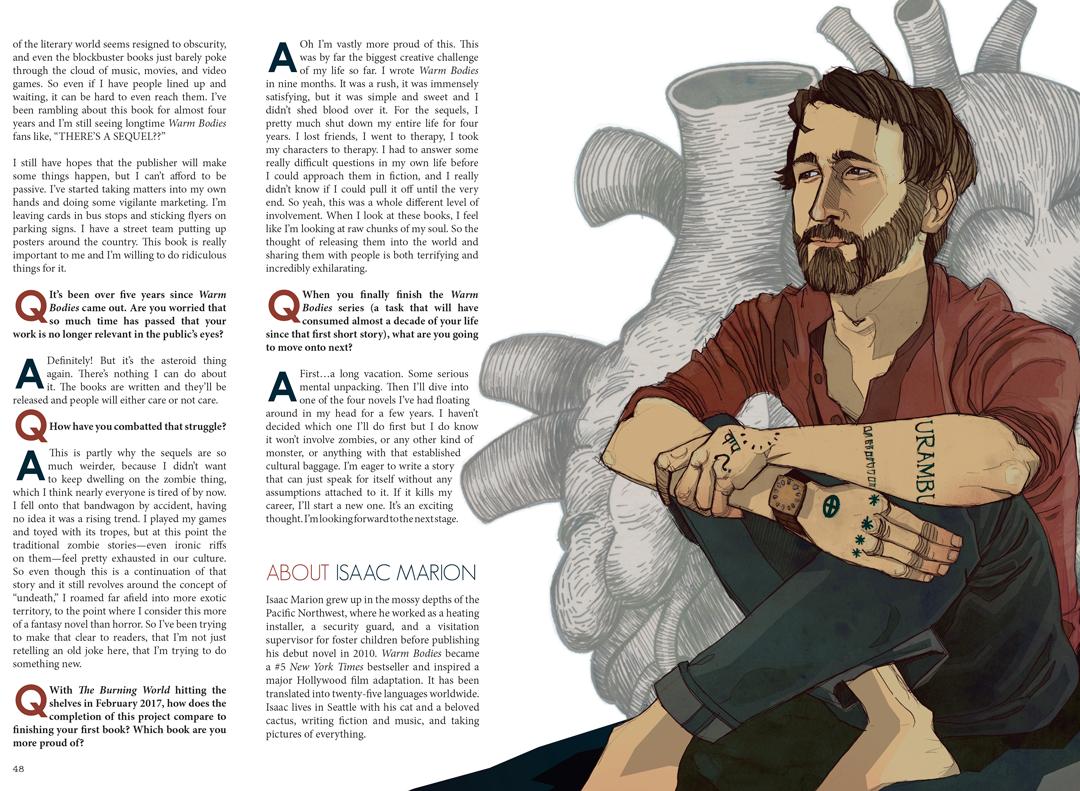 F(r)iction magazine illustration