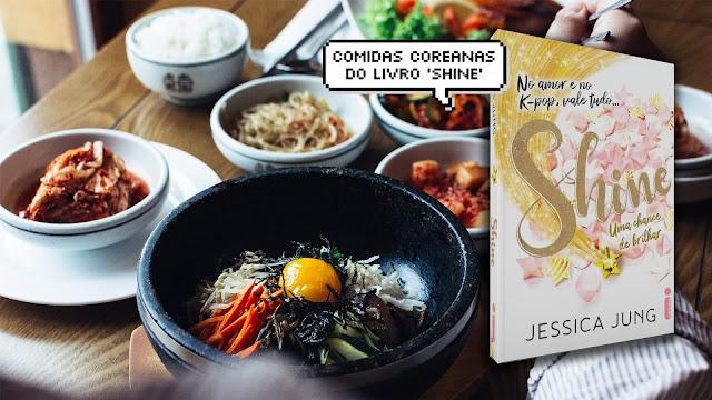 15 comidas coreanas citadas em Shine, o livro da Jessica Jung