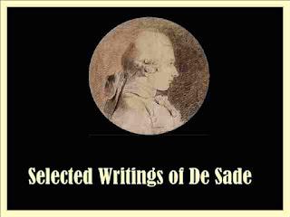 Selected Writings of De Sade