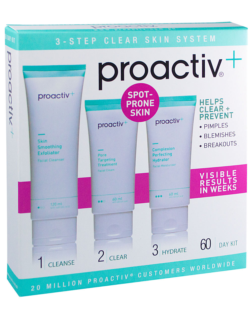 Skincare Tips: Stick with your Healthy Routine + Proactiv+ 3-Step Clear Skin System