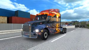 Sunset in California skin for Peterbilt 579