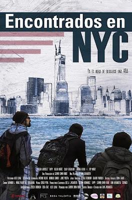 Cartel de Encontrados en NYC