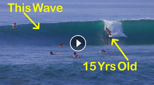 Wave Of The Day Opening Scene - Keramas 15 November 2020