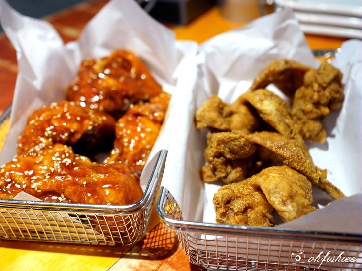 Ohfishiee Chicken Up Best Korean Fried Chicken In Singapore Is