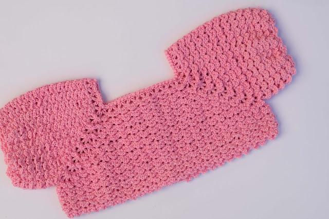 2-Crochet Imagen Canesú para vestido a crochet y ganchillo por Majovel Crochet