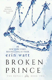 Les héritiers #2 Le prince brisé de Erin Watt