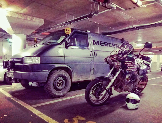 Mercenary Tactical VWT4 Van and TDM 850 Zombie Rat - Photo Evan Kelly