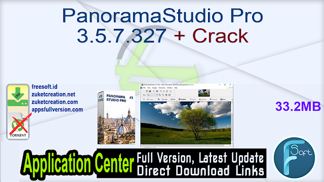 PanoramaStudio Pro 3.5.7.327 + Crack