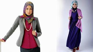 Kombinasi hijab dan pakaian