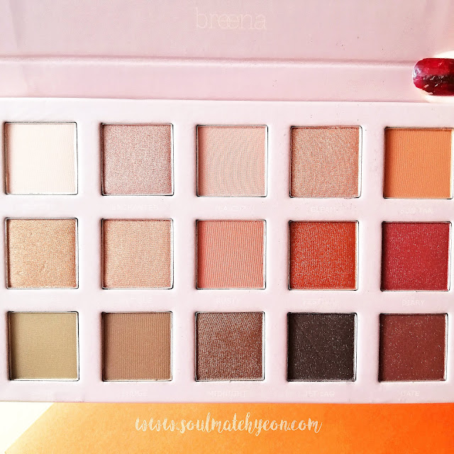 Review; Breena Beauty's Wanderlust Eyeshadow Palette