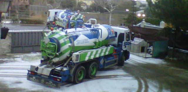 Poceros Madrid servicios con camiones cuba