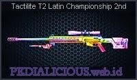 Tactilite T2 Latin Championship 2nd