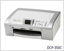 Brother DCP-350Cドライバーのダウンロード