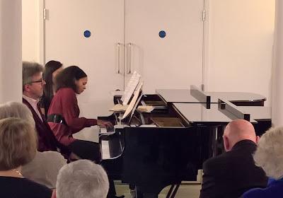 Mark Bebbington & Rebeca Omordia at Schott Music